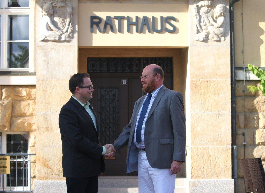 Tobias Meier und Holger Schirmbeck