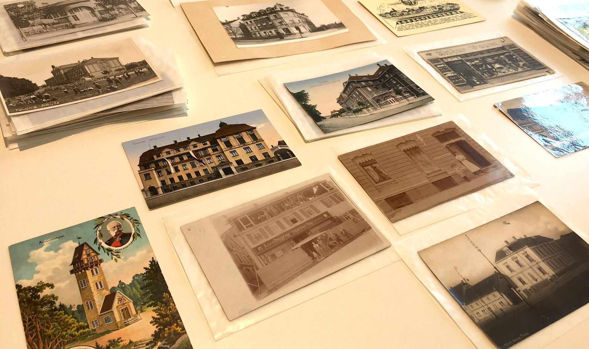 Ausstellungseröffnung Historische Postkarten