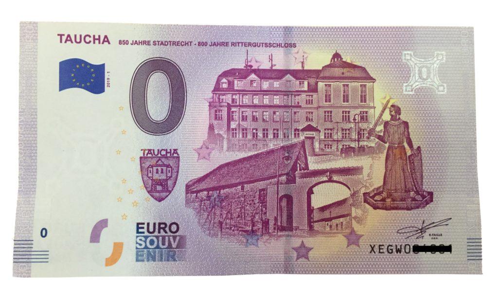 0-Euro-Schein Taucha