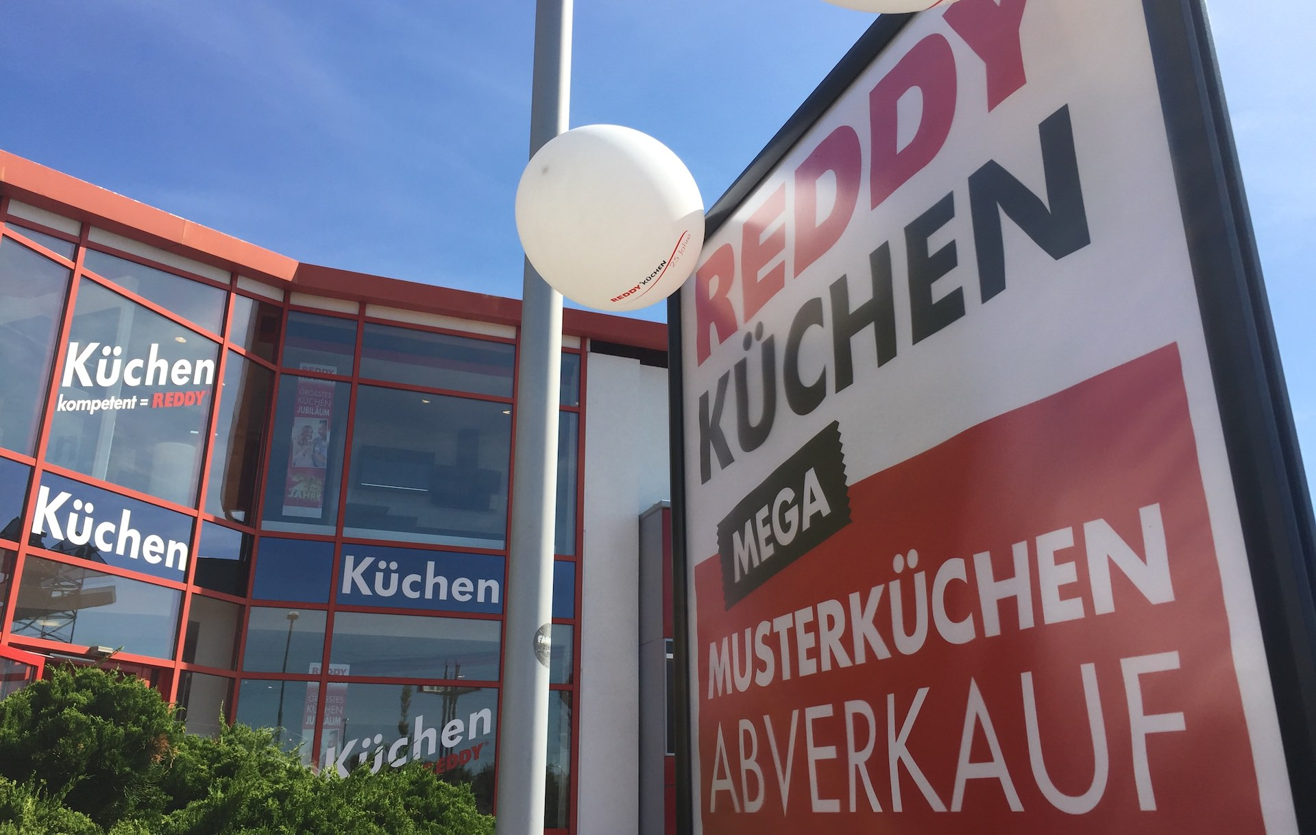 Wegen Komplettumbau: Abverkauf bei REDDY Küchen